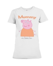 MUMMY PIG MOTHERS DAY 1 Premium Fit Ladies Tee thumbnail