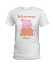 MUMMY PIG MOTHERS DAY 1 Ladies T-Shirt thumbnail