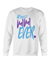 Best Meow Mom Ever Mothers Day Gift Shirt Cat Moms Crewneck Sweatshirt thumbnail