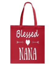 BLESSED-NANA-T-SHIRT-MOTHERS-DAY Tote Bag front