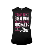 Great Mom Amazing Kids Mothers Day Gift Sleeveless Tee thumbnail
