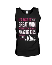 Great Mom Amazing Kids Mothers Day Gift Unisex Tank thumbnail