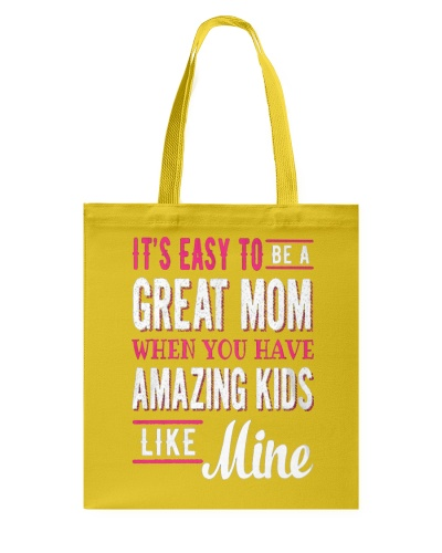 Great Mom Amazing Kids Mothers Day Gift