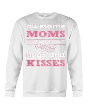 AWESOME MOMS GET LOTS HUGS MOTHERSDAY Crewneck Sweatshirt thumbnail