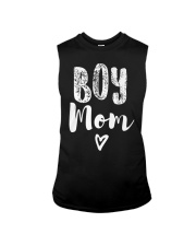 Boy Mom Heart Mothers Day Sleeveless Tee tile