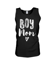 Boy Mom Heart Mothers Day Unisex Tank tile