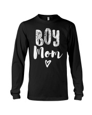 Boy Mom Heart Mothers Day Long Sleeve Tee thumbnail