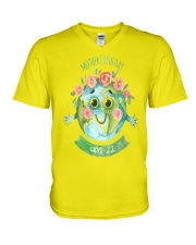 happy mother s day mommy 28 V-Neck T-Shirt front