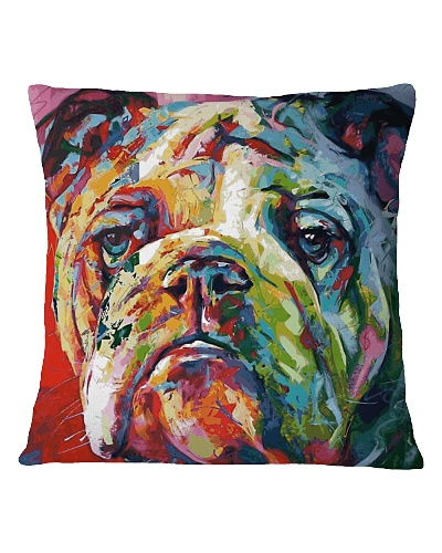 English Bulldogs Art Colors
