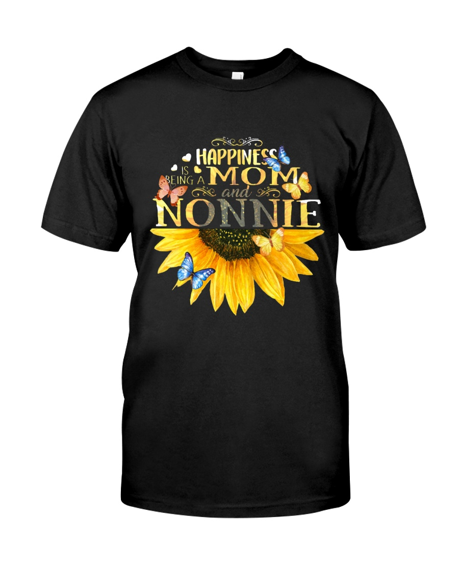 happiness mom nonnie t shirt Classic T-Shirt