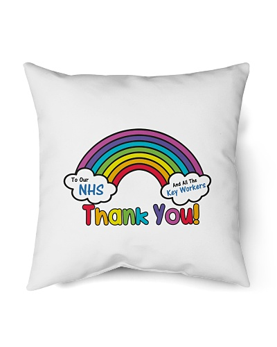 gift for NHS mommy thank you the superhero rainbow