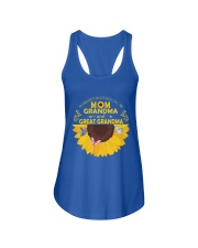mama grandma great grandma Ladies Flowy Tank thumbnail