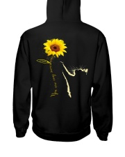 You are my sunshine Hooded Sweatshirt back