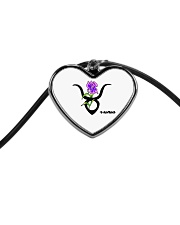 iris Taurus  Cord Heart Necklace thumbnail