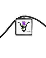 iris Taurus  Cord Rectangle Necklace thumbnail