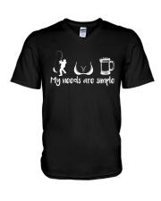 My Needs V-Neck T-Shirt thumbnail