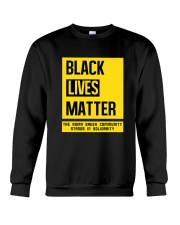 Black Lives Matter X Asian Greeks Crewneck Sweatshirt thumbnail