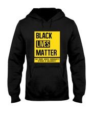 Black Lives Matter X Asian Greeks Hooded Sweatshirt thumbnail
