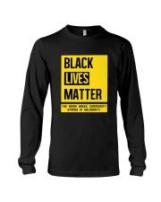 Black Lives Matter X Asian Greeks Long Sleeve Tee thumbnail