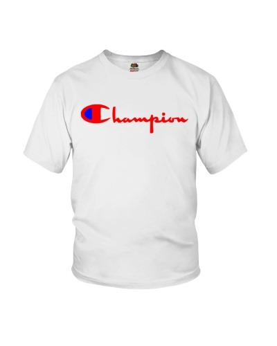 White Champion hoodie