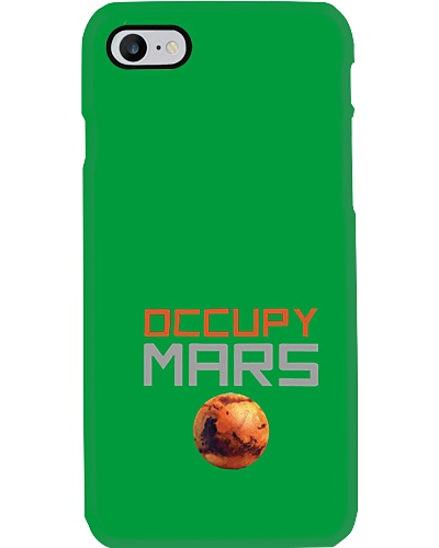 Occupy Mars shirts
