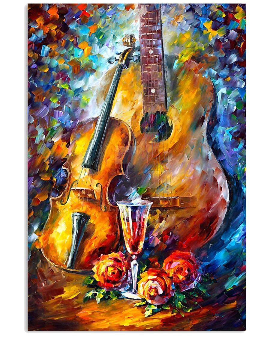 Violin And Guitar 11x17 Poster