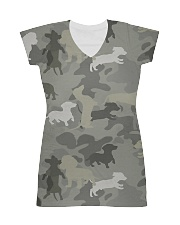 Camo Dachshund All-over Dress thumbnail
