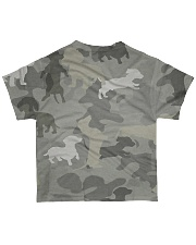 Camo Dachshund All-over T-Shirt back