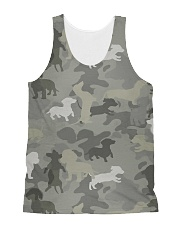 Camo Dachshund All-over Unisex Tank thumbnail