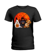 Dachshund - Halloween Ladies T-Shirt thumbnail