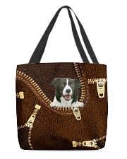 Border Collie All-over Tote back