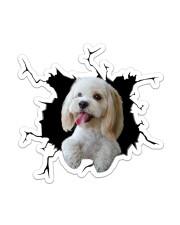 Cockapoo Sticker - Single (Vertical) front