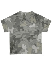 Camo Poodle All-over T-Shirt back