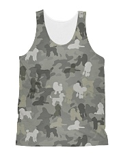 Camo Poodle All-over Unisex Tank thumbnail