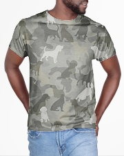 Camo Beagle All-over T-Shirt aos-all-over-T-shirt-lifestyle-front-04