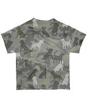 Camo Beagle All-over T-Shirt back