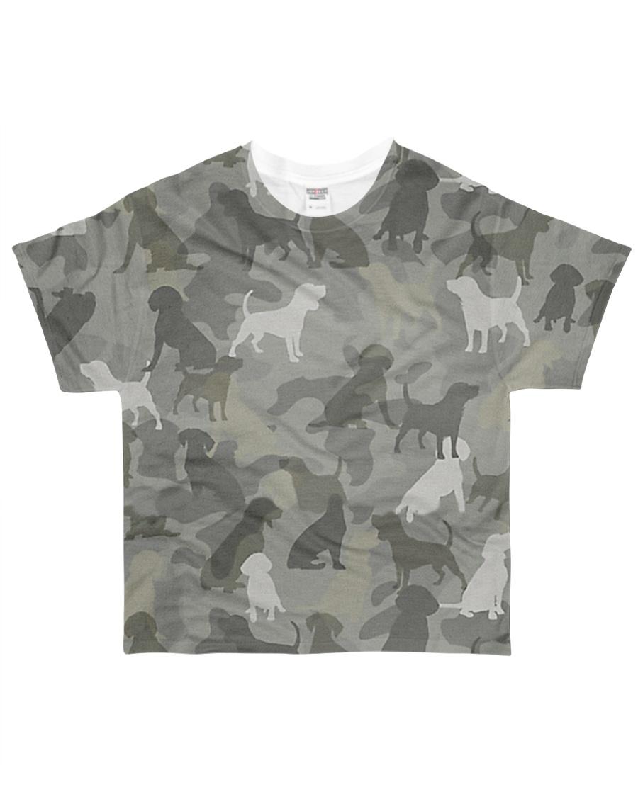 Camo Beagle All-over T-Shirt