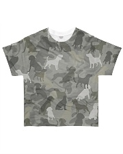 Camo Beagle All-over T-Shirt front