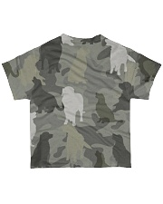 Golden Retriever - Camouflage All-over T-Shirt back