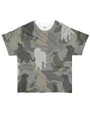 Golden Retriever - Camouflage All-over T-Shirt front