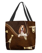 Basset Hound All-over Tote back