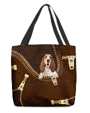 Basset Hound All-over Tote front