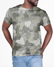 Camo American Cocker Spaniel All-over T-Shirt aos-all-over-T-shirt-lifestyle-front-04