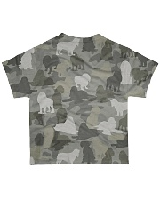 Camo American Cocker Spaniel All-over T-Shirt back