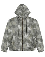 Camo Papillon Women's All Over Print Full Zip Hoodie thumbnail