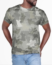 Camo Papillon All-over T-Shirt aos-all-over-T-shirt-lifestyle-front-04