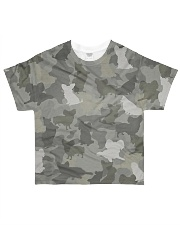 Camo Papillon All-over T-Shirt front