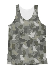 Camo Papillon All-over Unisex Tank thumbnail