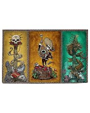 Guitar Skeleton Woven Rug tile
