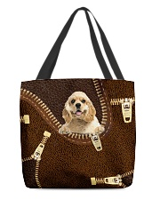 American Cocker Spaniel All-over Tote front